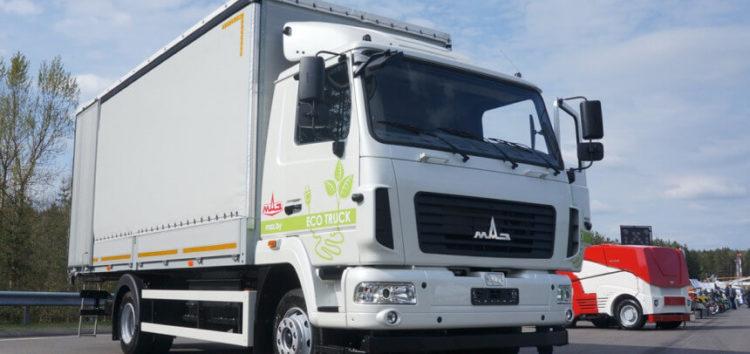 Мінський автозавод представив свою першу електро вантажівку
