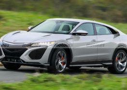 Honda задумала новинку в стилі NSX