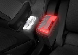 Ремені безпеки з підсвічуванням – нова розробка компанії Skoda