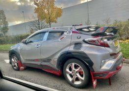 Власник Toyota C-HR змінив автомобіль до невпізнанності