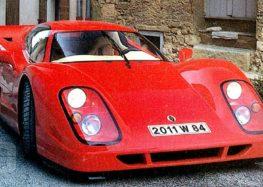 Jimenez Novia – перший суперкар W16