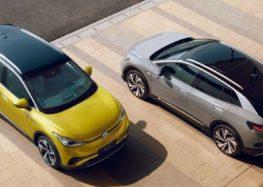 Volkswagen представив нові модифікації електрокарів