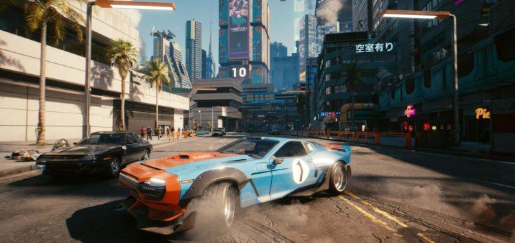 Cyberpunk 2077: автомобілі з гри