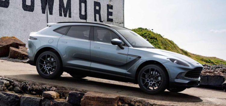 Новий Aston Martin присвятили шотландському віскі