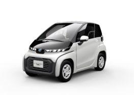 Toyota представила найменший електрокар