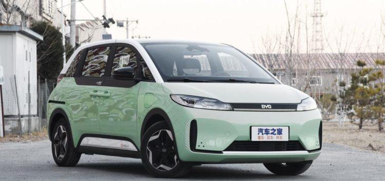 BYD представив автомобіль спеціально для таксі