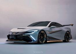 У Європі представили унікальний спорткар Naran Hyper Coupe