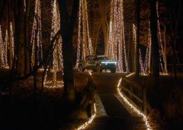 Rivian влаштував різдвяну вечірку в лісі за допомогою електромобіля (відео)