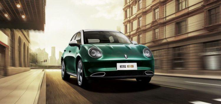 Представили новий електромобіль для китайського ринку в стилі Porsche