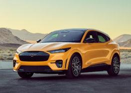 Ford представив топову версію Mustang Mach-E GT Performance