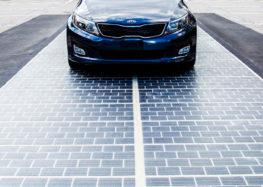 У США встановили сонячні батареї на ділянці дороги