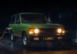 Компанія Lunaz переробила класичний Range Rover в електромобіль