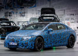 Mercedes-EQ почне виробництво чотирьох електромобілів у 2021 році