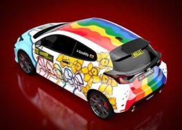 Toyota показала незвичайний GR Yaris