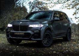 Ательє Manhart показало свій варіант BMW X7