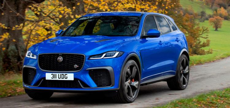 Jaguar показав оновлений кросовер F-Pace SVR