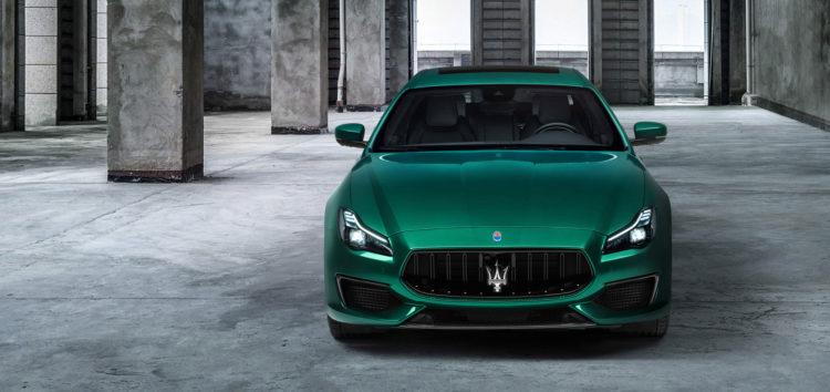 Maserati відмовляється від бензинових двигунів