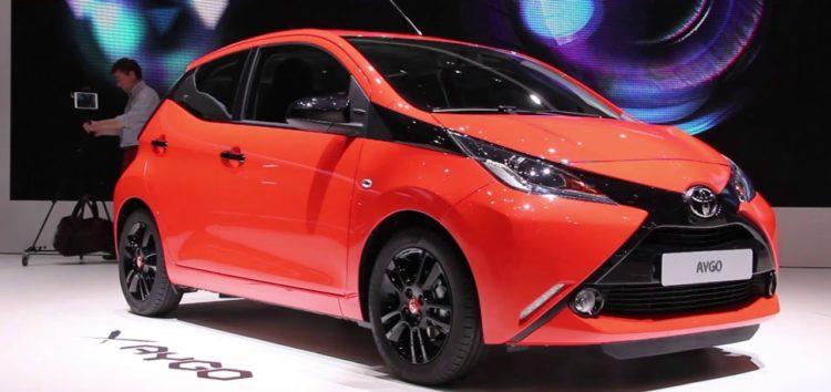 Показали фото нової Toyota Aygo