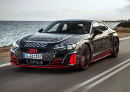 Audi запустила в серійне виробництво e-tron GT