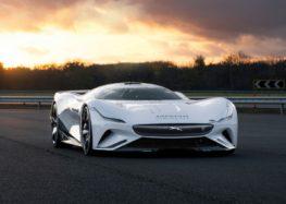 Jaguar показав новий гоночний електромобіль Jaguar Vision Gran Turismo SV