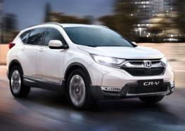 Honda представила оновлену версію CR-V