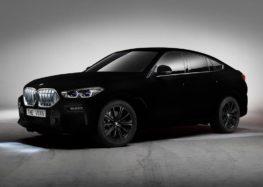 BMW X6 отримав самий чорний колір в світі