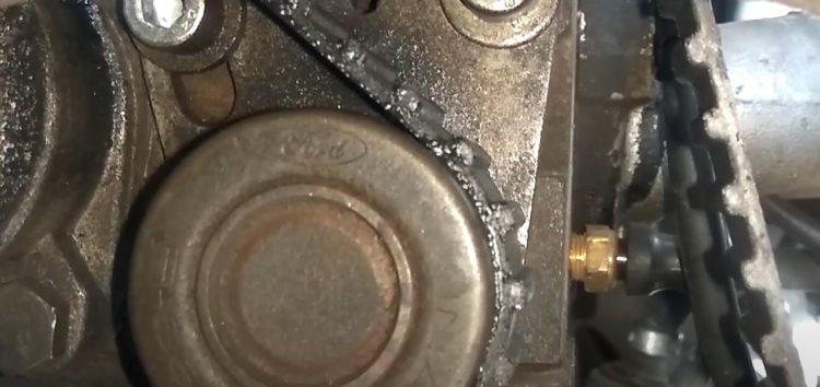 Заміна сальника проміжного вала Elring 757.497 на Ford Sierra (відео)