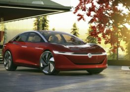 Passat стане електричним та побореться з Tesla Model S