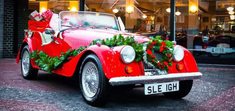 На аукціон виставили автомобіль самого Санта-Клауса
