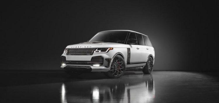 Представили останню версію позашляховика Range Rover