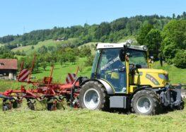 Швейцарцы выпускают электро-трактор