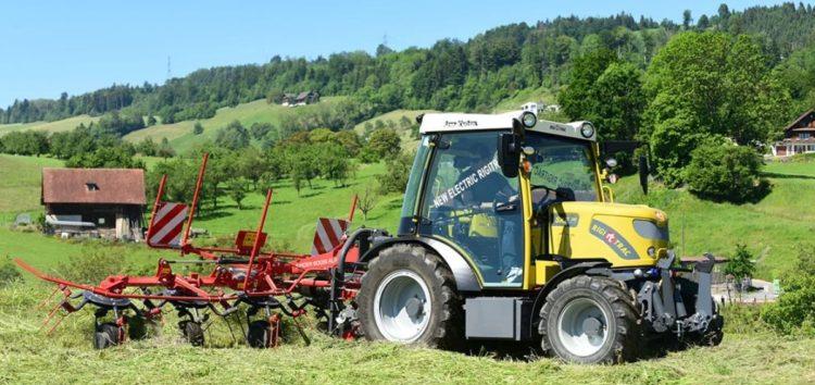 Швейцарці випускають електро-трактор