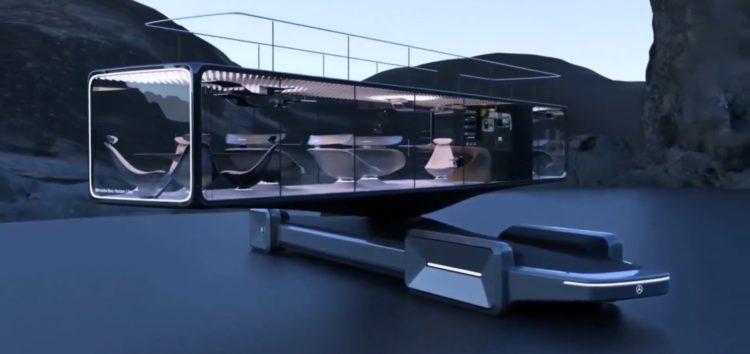 Mercedes-Benz показав незвичайний концепт автобуса