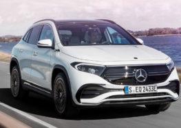 Mercedes-Benz презентував новий електричний кросовер