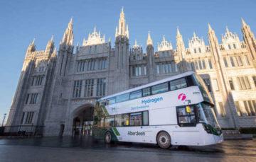 Водневі автобуси вперше виходять на маршрут