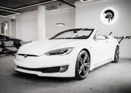 Tesla Model S переробили в кабріолет