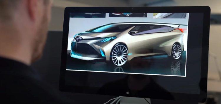 Toyota представила яскравий дизайн нової Sienna (відео)