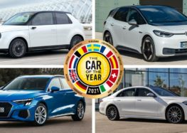 Серед кращих машин року – п'ять електричних