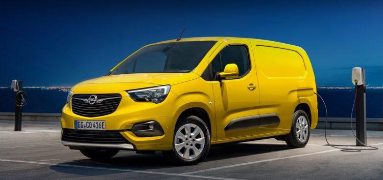 Opel представив новинку Combo-e