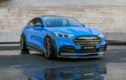 Показали тюнінг-версію електричного кросовера Ford Mustang Mach-E