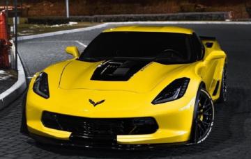 В Україні помічено надпотужний Chevrolet Corvette