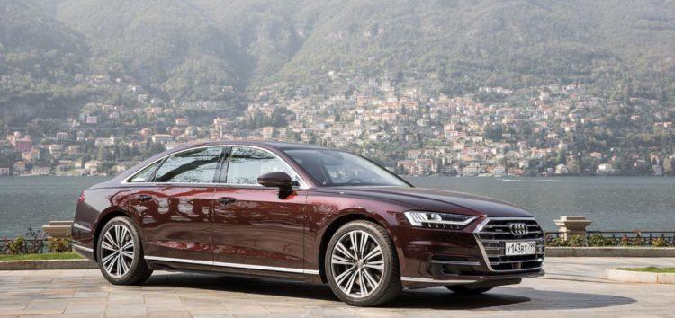 Перше зображення оновленої Audi A8 вже в мережі