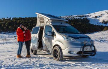 Nissan представив електричний кемпер для зимового відпочинку