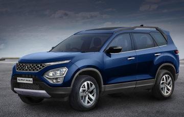 Кросовер Tata Safari почнуть продавати вже наступного місяця