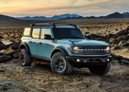 Фотошпигуни натрапили на новий Ford Bronco Heritage Edition в камуфляжі