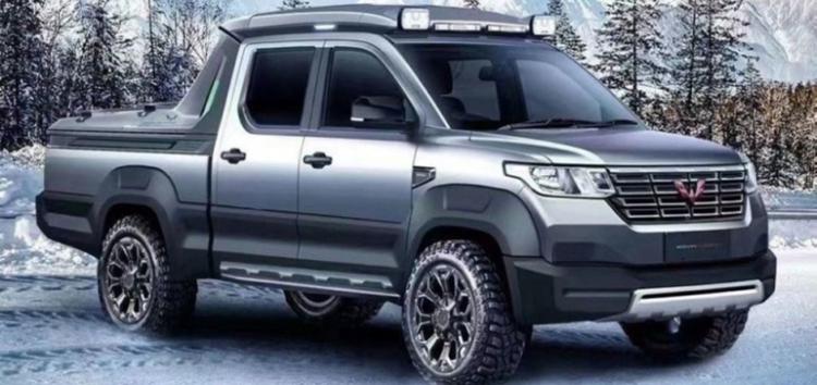 Новий китайський пікап від фірми Wuling Motors