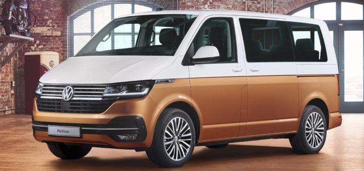 Новий Volkswagen Multivan T7 помітили на дорогах Швеції