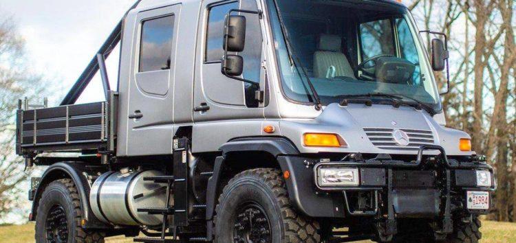 Неймовірний Mercedes-Benz Unimog U500 продають з аукціону