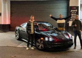 Porsche Taycan 4S побив рекорд Tesla Model 3
