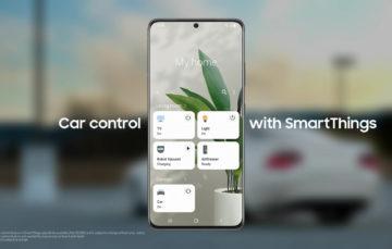 Samsung додасть керування машиною в SmartThings